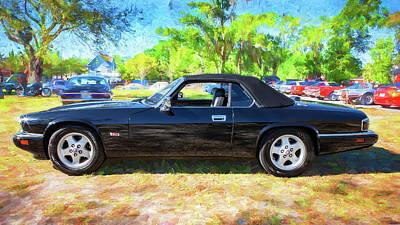 Photograph - 1995 Jaguar Xjs Convertible by Rich Franco