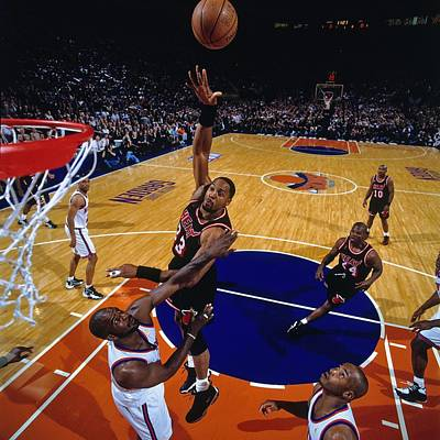 Photograph - 1997 Eastern Conference Semifinals by Nathaniel S. Butler