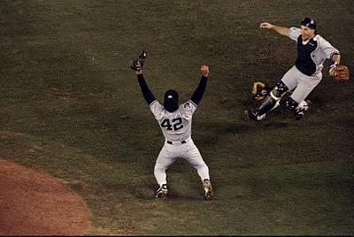Photograph - 1998 World Series by Todd Warshaw