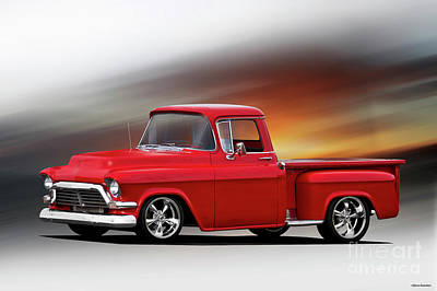 Aloha For Days - 1957 GMC Perfect Pickup by Dave Koontz