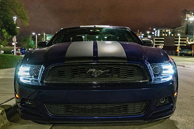 Photograph - 2014 Ford Mustang by Randy Scherkenbach