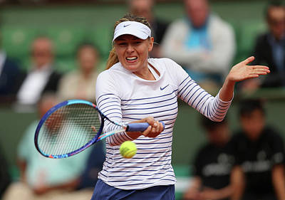 Photograph - 2015 French Open - Day Six by Clive Brunskill