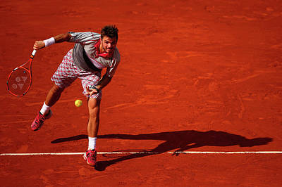Photograph - 2015 French Open - Day Ten by Clive Brunskill