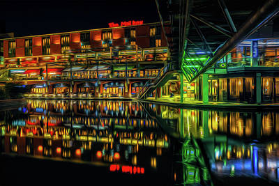Photograph - A Night On The Town by Chris Fletcher