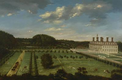 Painting - A View Of Bayhall, Pembury, Kent by Jan Siberechts