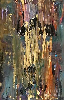Thomas Kinkade - Abstract  by Mary Shannon Hurst