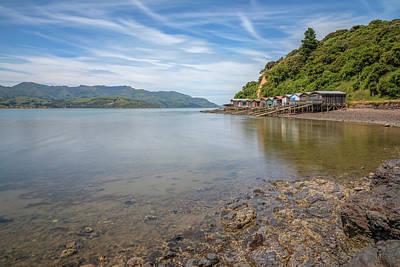 Photograph - Akaroa - New Zealand by Joana Kruse