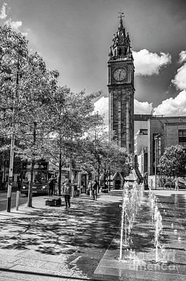 Photograph - Albert Memorial Clock by Jim Orr
