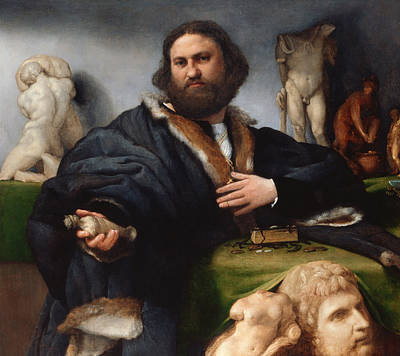Painting - Andrea Odoni by Lorenzo Lotto