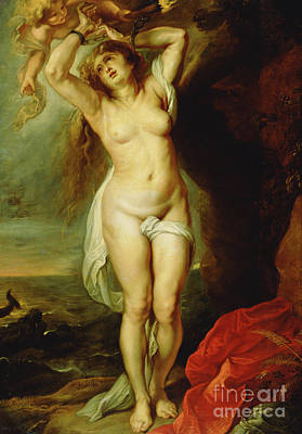 Painting - Andromeda by Peter Paul Rubens
