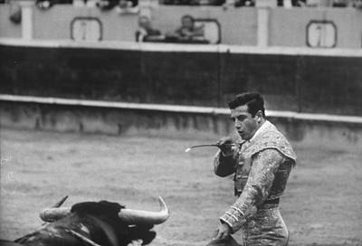 Spain Photograph - Antonio Ordonez by Loomis Dean