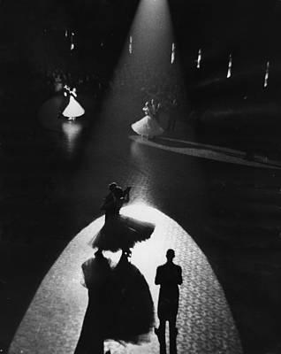 Photograph - Ballroom Dancing by Alex Dellow