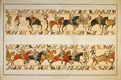Bayeux Tapestry Art Print by Hulton Archive