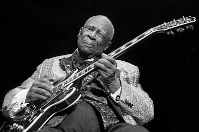 England Photograph - B.b. King Performs At Royal Albert Hall by Neil Lupin