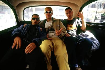 Photograph - Beastie Boys London 1993 by Martyn Goodacre