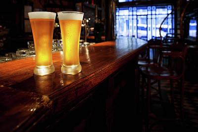 Pub Photograph - Beer by Ultramarinfoto