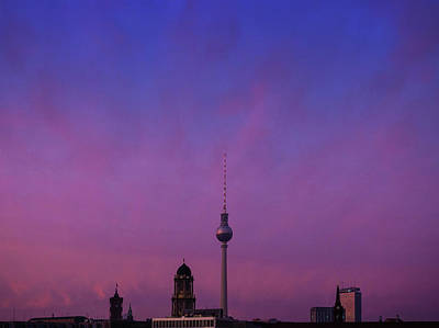 Berlin Skies Art Print