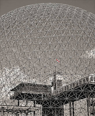 Photograph - Biosphere Montreal by Juergen Weiss