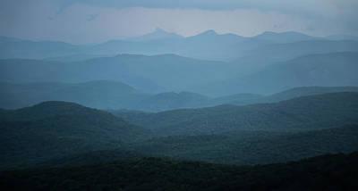 Photograph - Blue Ridge Mountains Nature In Summer by Alex Grichenko