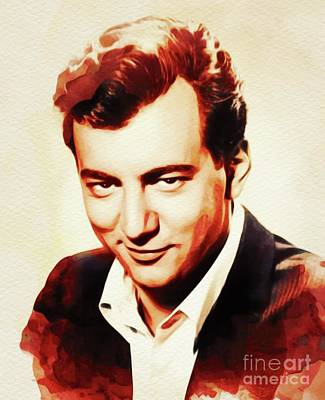 Music Paintings - Bobby Darin, Music Legend by Esoterica Art Agency