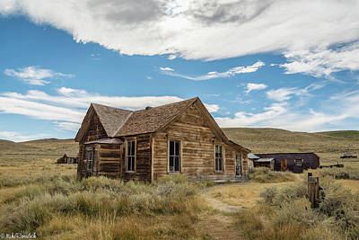 Irish Leprechauns - Bodie California by Mike Ronnebeck
