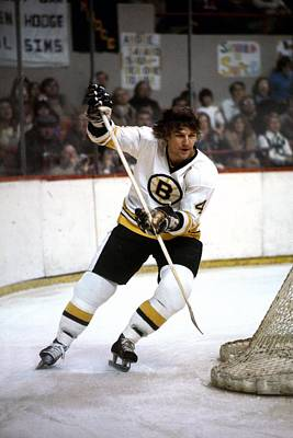Photograph - Boston Bruins by Steve Babineau