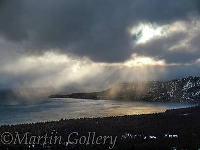 Photograph - Breaking Light by Martin Gollery
