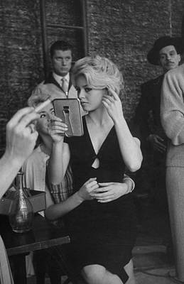 Spain Photograph - Brigitte Bardot by Loomis Dean