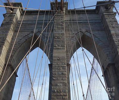 World Forgotten Rights Managed Images - Brooklyn Bridge Royalty-Free Image by Wilko Van de Kamp