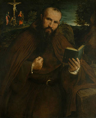 Painting - Brother Gregorio Belo Of Vicenza by Lorenzo Lotto