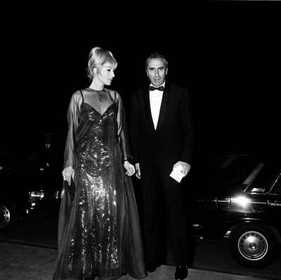 Photograph - Cannes Film Festival In 1967 by Gilbert Tourte