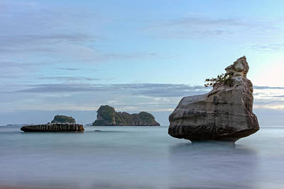 Cathedral Rock Wall Art - Photograph - Cathedral Cove - New Zealand by Joana Kruse