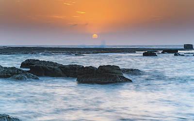 Photograph - Coastal Sunrise by Merrillie Redden