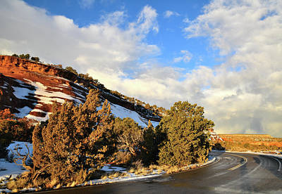 Photograph - Colorado National Monument's Rim Rock Drive by Ray Mathis
