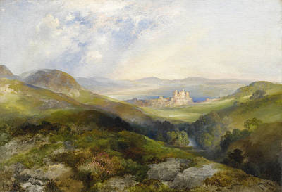 Painting - Conway Castle by Thomas Moran