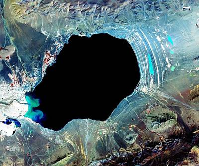 Aloha For Days - Dagze Co, one of many inland lakes in Tibet by Celestial Images