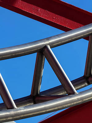 Photograph - Detail Of Sculpture In East River Park by Robert Ullmann