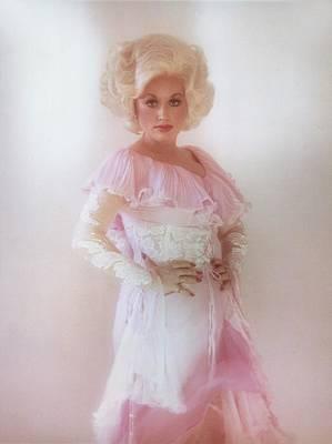 Photograph - Dolly Parton Portrait Session by Ed Caraeff/morgan Media