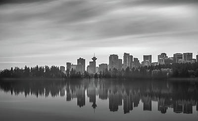 Photograph - Downtown Vancouver by Juan Contreras