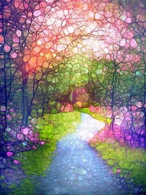 Digital Art - Dreaming Of Spring by Tara Turner