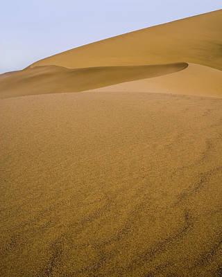 Photograph - Dunes At Dunhuang Gansu China by Adam Rainoff