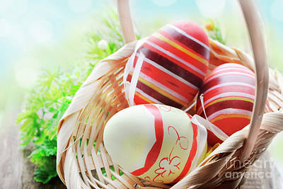 Photograph - Easter Eggs by Jelena Jovanovic