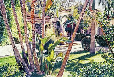 Painting - Elegant Afternoon by David Lloyd Glover