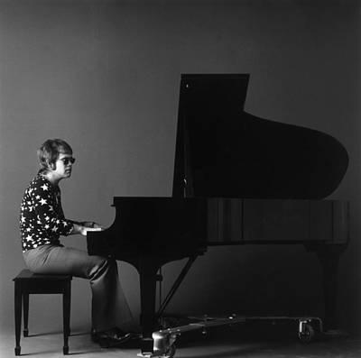 Photograph - Elton John by Jack Robinson