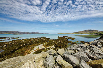 Scotland Landscape Wall Art - Mixed Media - Eriskay by Smart Aviation