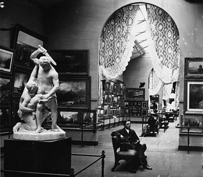 England Photograph - Exhibition by William England
