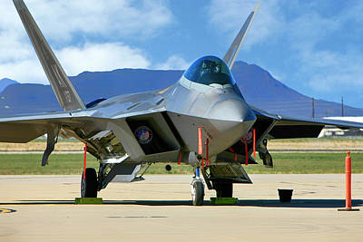 Photograph - F22 Rapter by Chris Smith