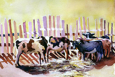 Painting - Fenced In by Connie Williams