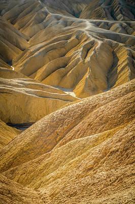 Photograph - Fine Desert Landscape In Death Valley National Park California by Alex Grichenko
