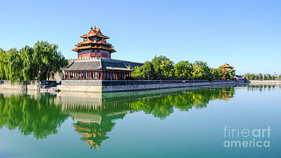 Photograph - Forbidden City Watchtower  by Iryna Liveoak
